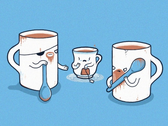Simple but Funny Illustrations