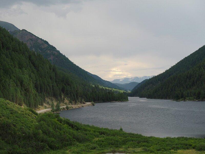 Горный Алтай - озеро Чейбеккёль (Mountain Altai - Lake Cheybekkol)