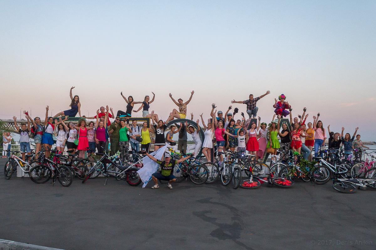 велопарад Леди на велосипеде фото 14