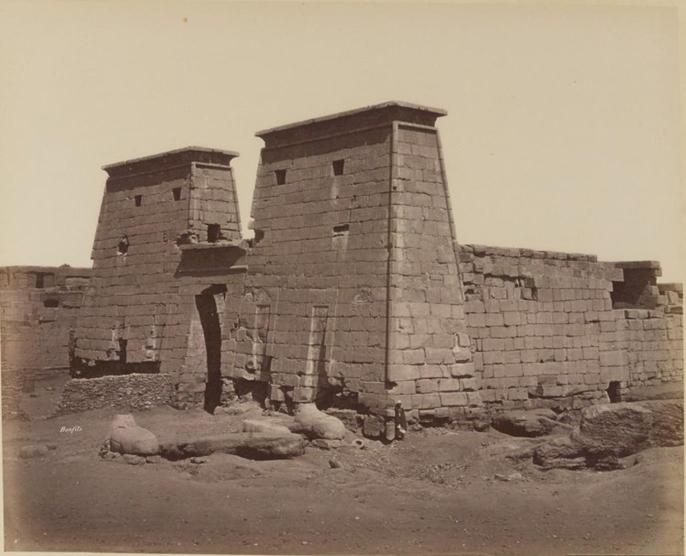Карнак. Храм Рамзеса III