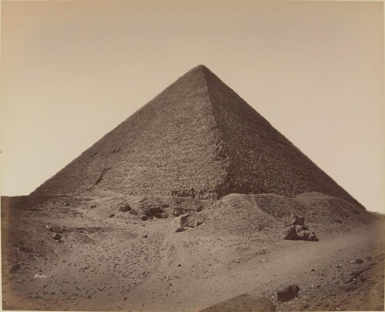 Гиза. Пирамида Хеопса