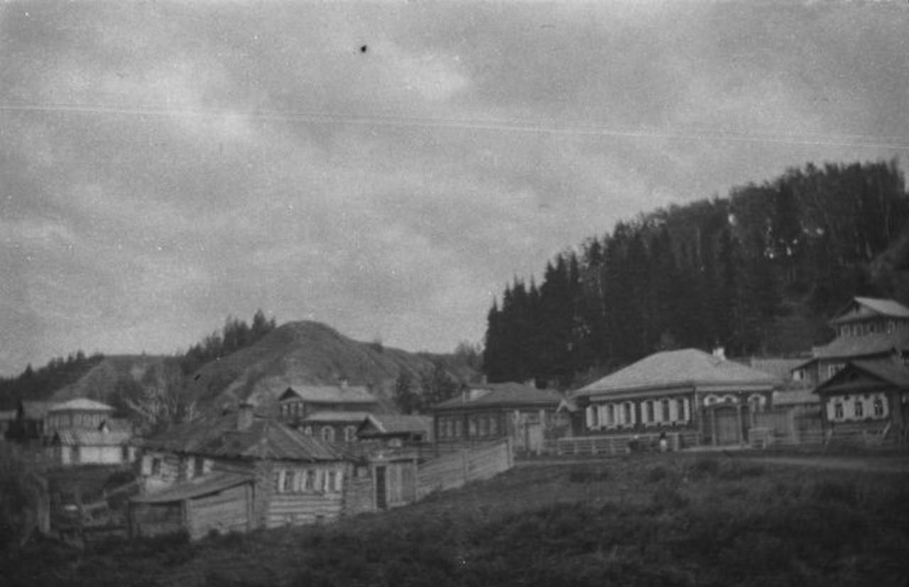 Вид города Тобольска