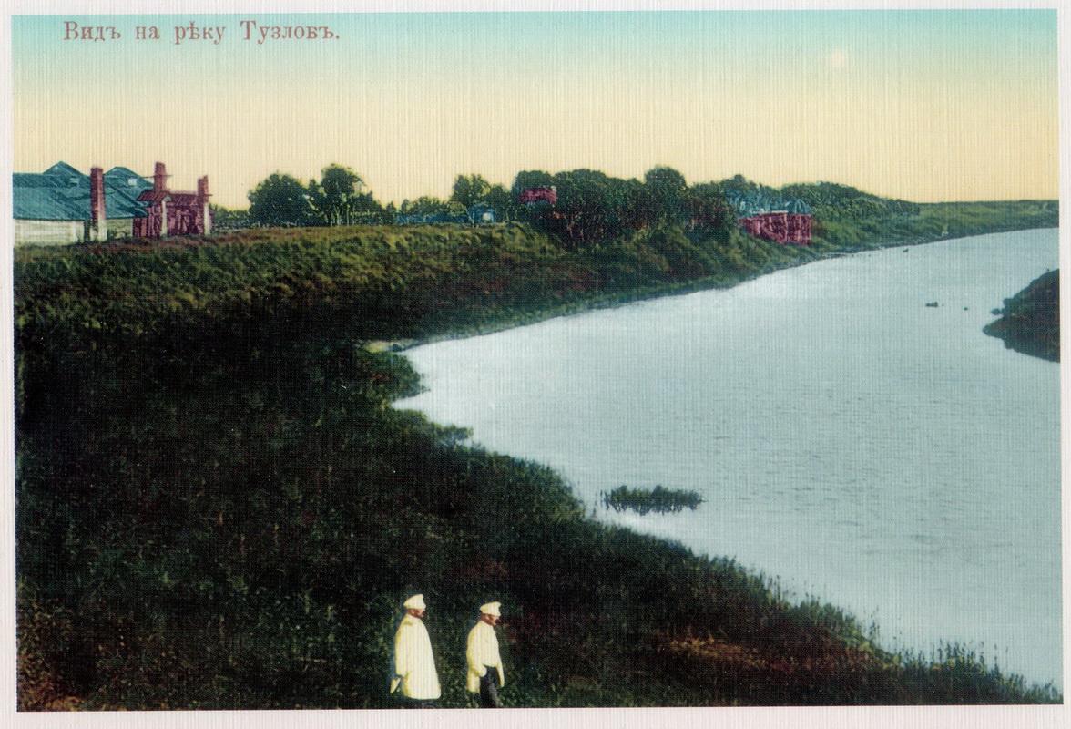 Вид на реку Тузлову