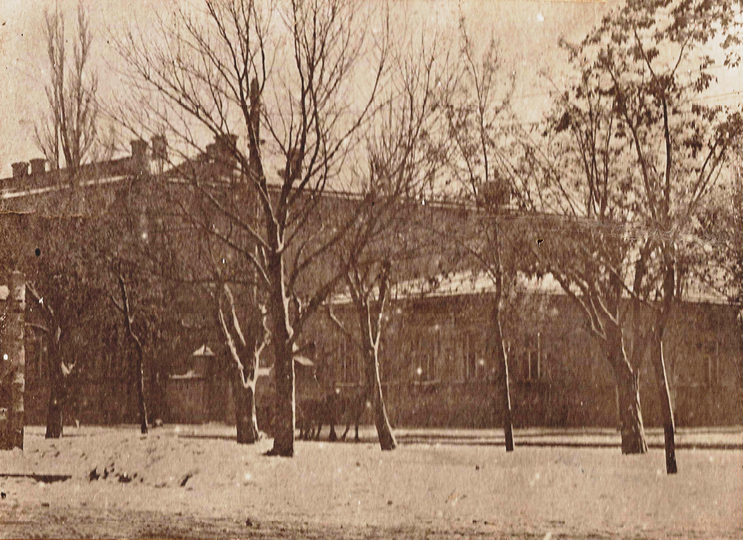 Проспект Ермака. Здание мужской гимназии