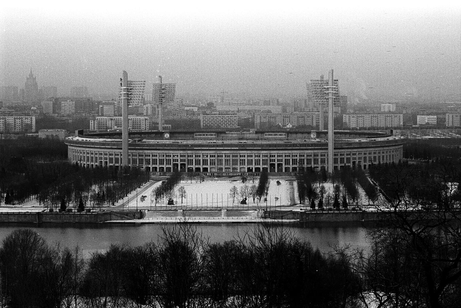Олимпийский стадион Лужники