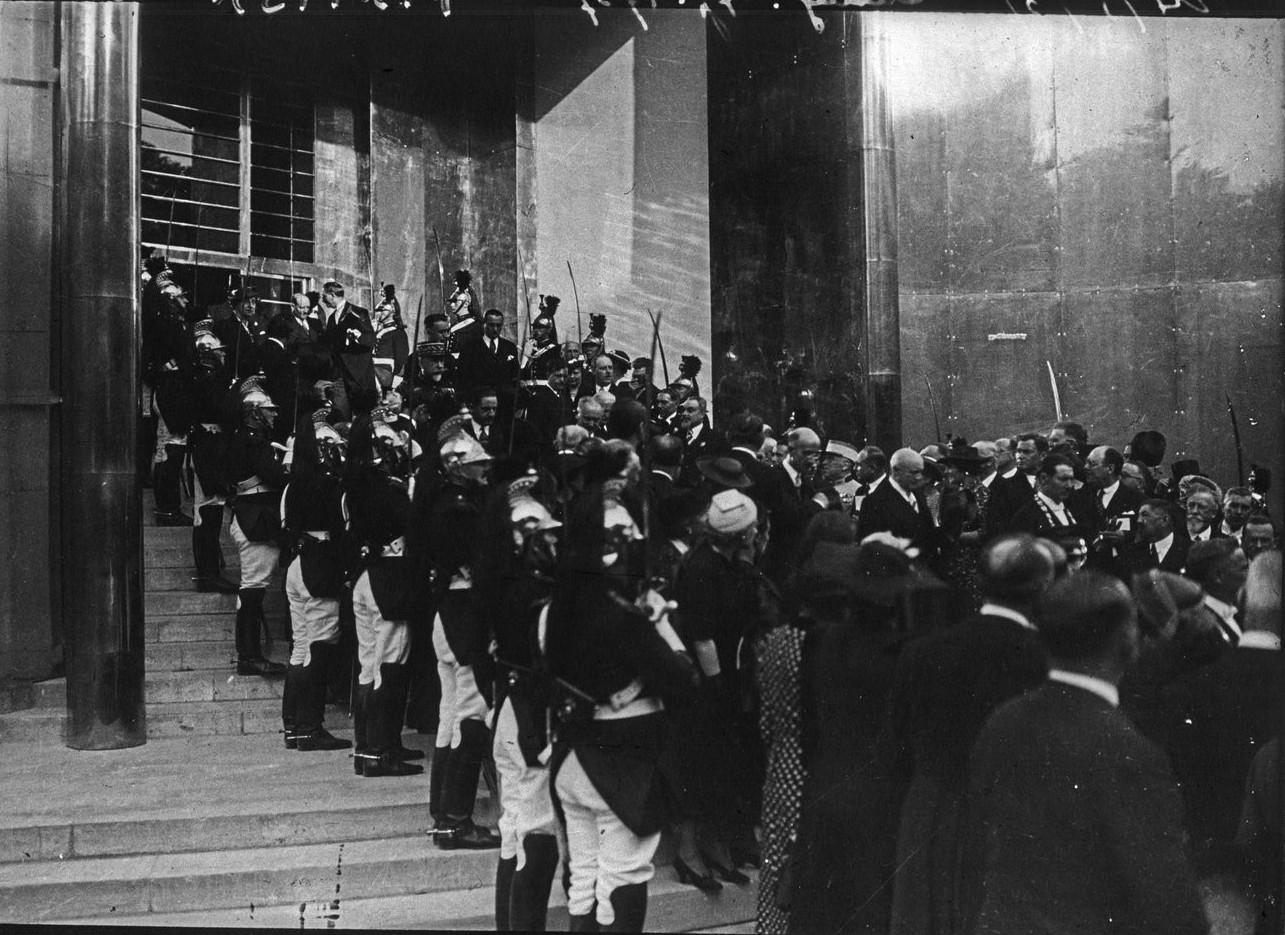 День открытия. Президентский кортеж. 24 мая 1937