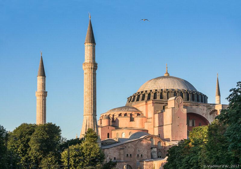 Собор Святой Софии. Константинополь - Айя-София. Стамбул.