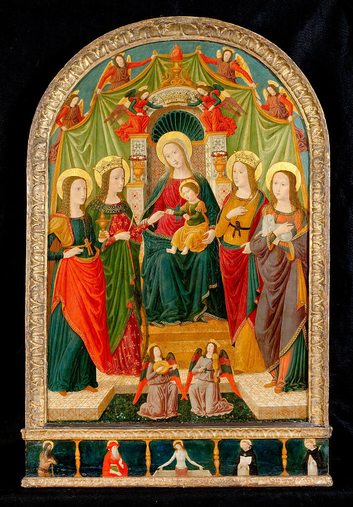 714px-Workshop_of_Benozzo_Gozzoli_-_The_Mystic_Marriage_of_St_Catherine1495-1500.jpg