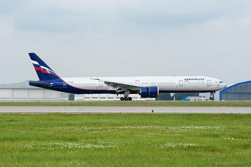 Boeing 777-3M0/ER (VQ-BQE) Аэрофлот 243_D702758