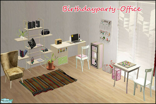 Birthdayparty - Office by steffor