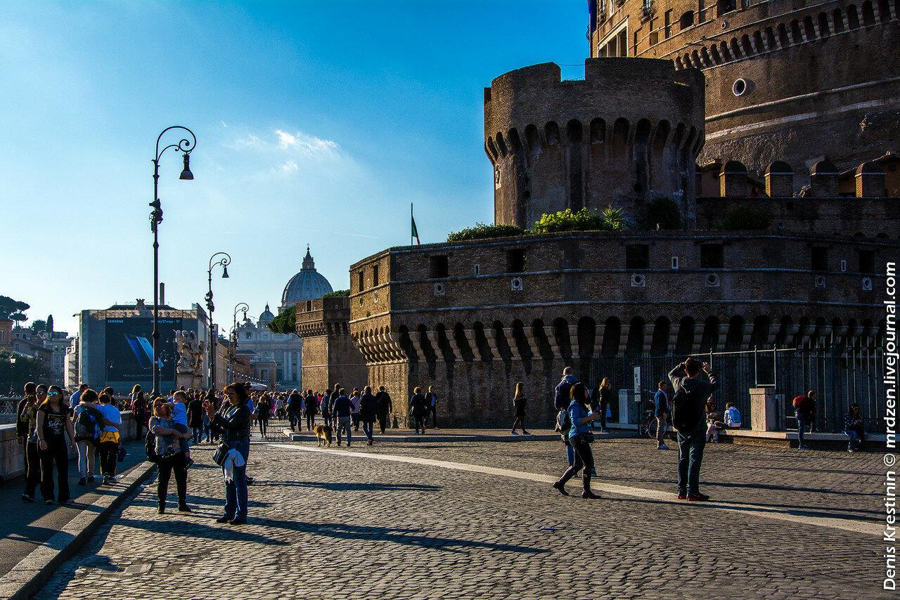 Рим. Замок Святого Ангела.