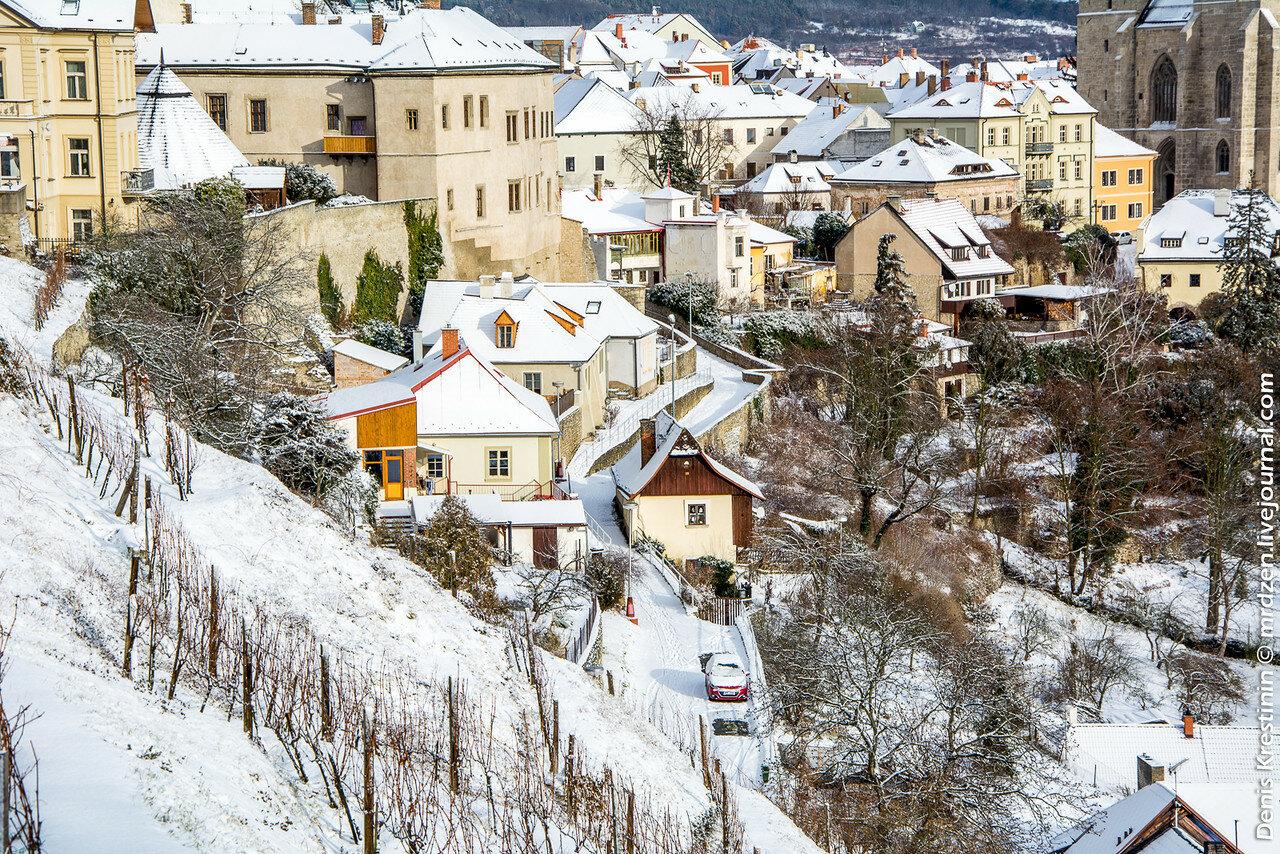 Кутна-Гора. Зима.