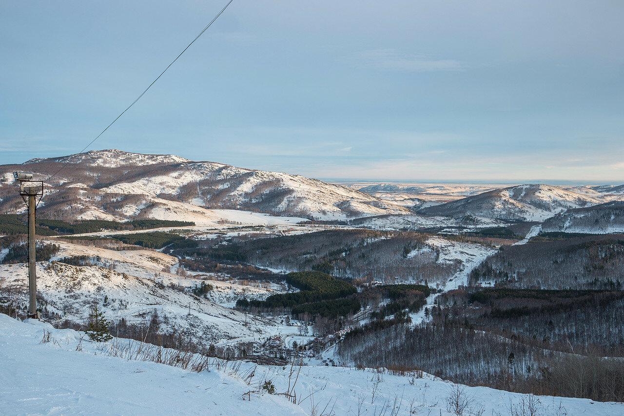 Абзаково, панорама