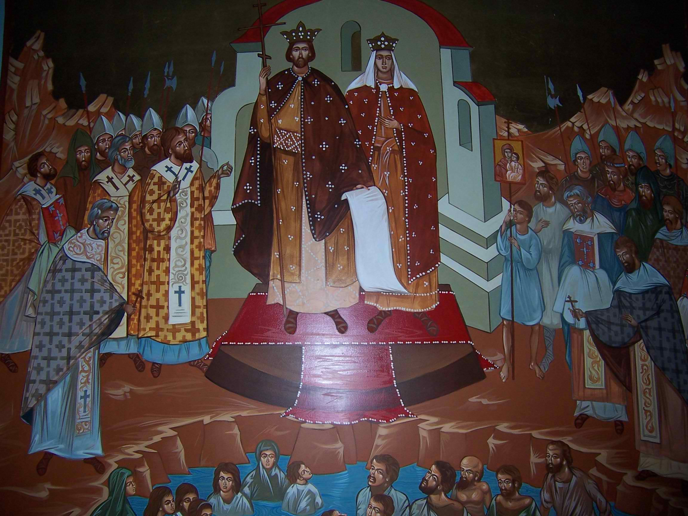 Крещение руси. Князь Владимир и Ольга