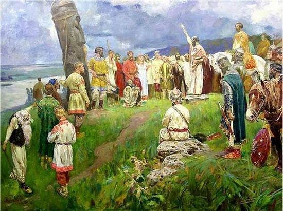 Крещение Руси. У языческих иделов