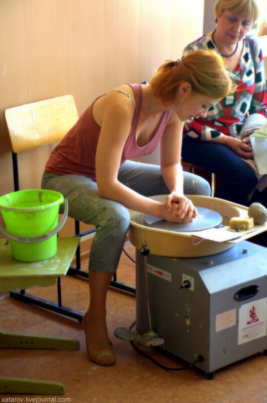 Скопинская художественная керамика. Экскурсия на производство. Скопин, Рязанская область