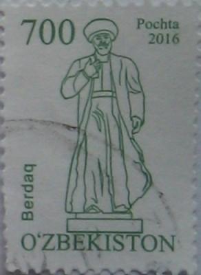 узбекистан 2016 Berdaq 700