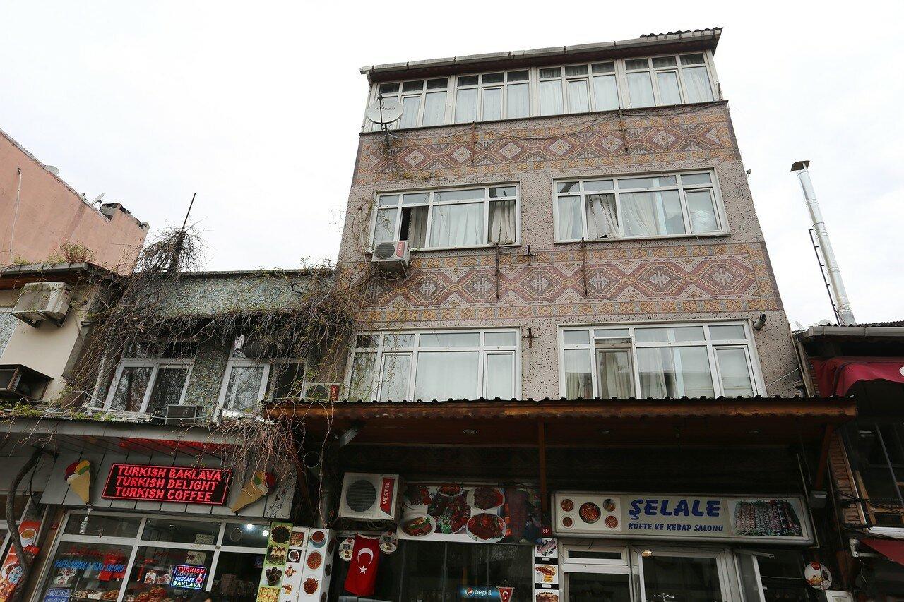 Istanbul. Kadirga Limani Street (Kadirga Limani Caddesi)