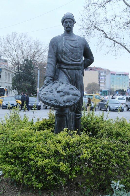 Istanbul.  Kadiköy Meydan Parkı