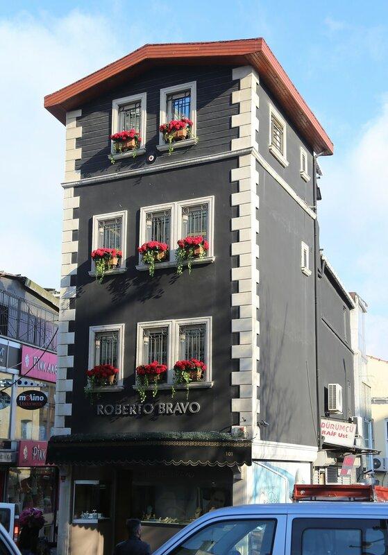Стамбул. Торговая улица Везирхан (Vezirhan Caddesi)