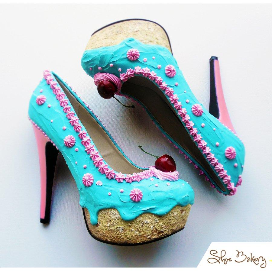 Shoe Bakery – обувь, которую хочется съесть (13 фото)