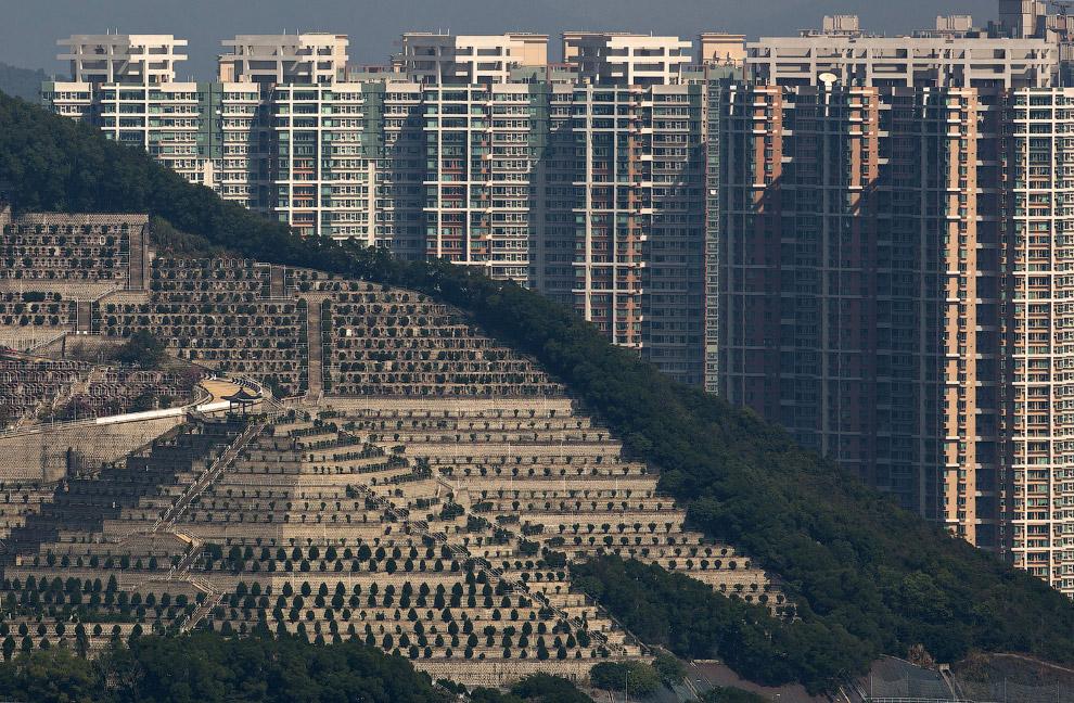 15. Дома-колодцы выглядят устрашающе. (Фото Anthony Wallace):