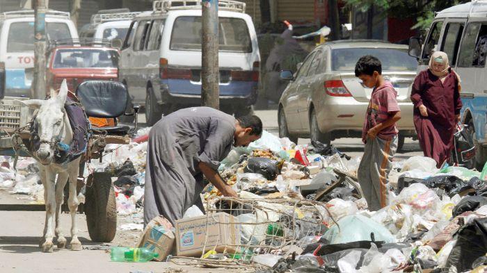 Заббалин — египетский город мусорщиков, которого нет на карте (15 фото)