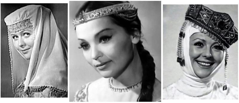 3. Три царицы оттуда же — Наталья Гундарева, Светлана Светличная, Наталья Селезнева.