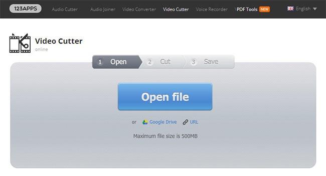 © online-video-cutter.com  Это веб-приложение распознает почти все известные форматы видео. С