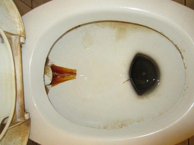 Грязная ванная комната Хозяин такого жилища обычно инфантильный и нерешительный. Ему всегда нужно ук