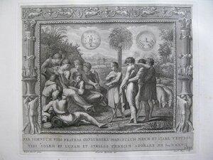 Иосиф объясняет сны братьям (Бытие, XXXVII, 5-10)