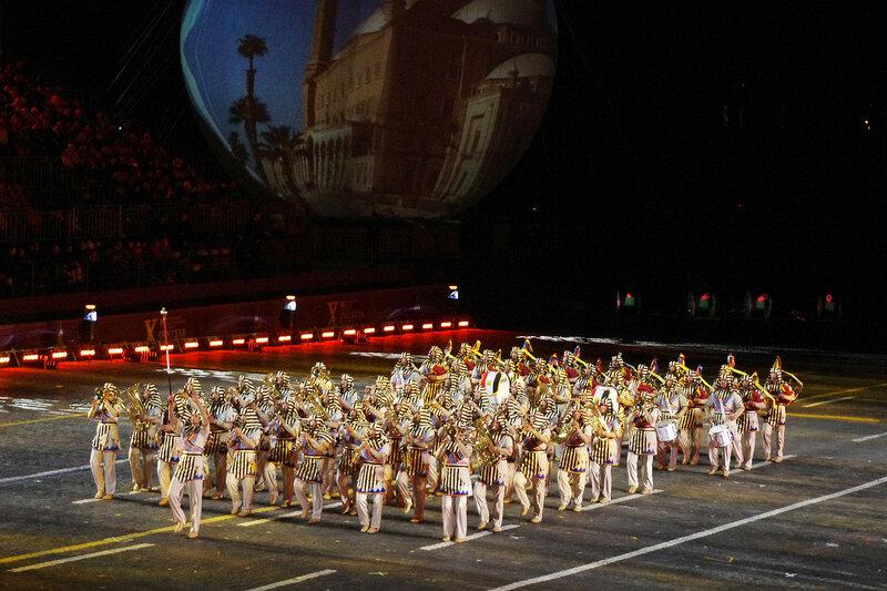 Военный симфонический оркестр Египта