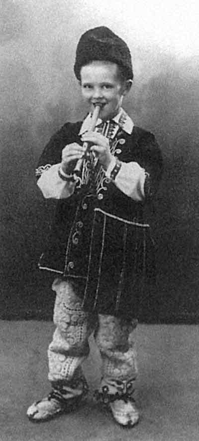 Юный Никита Лобанов-Ростовский «болгарского периода»