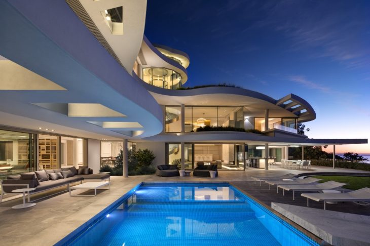 When this two-storey Cape Town (South Africa) property, originally designed by SAOTA a decade ago, w