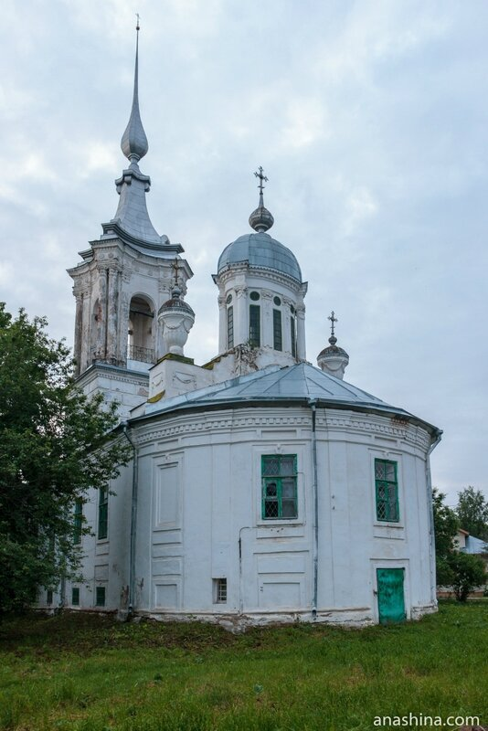 Церковь Варлаама Хутынского, Вологда