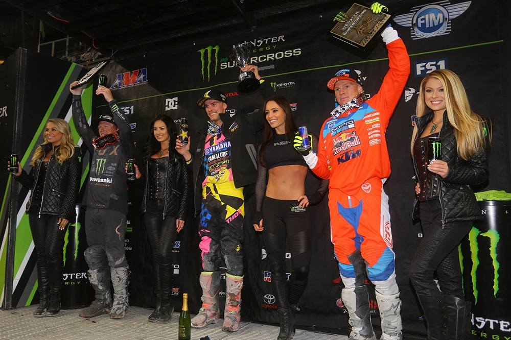 AMA Supercross 2017, этап  14 - Сиэтл (фото)