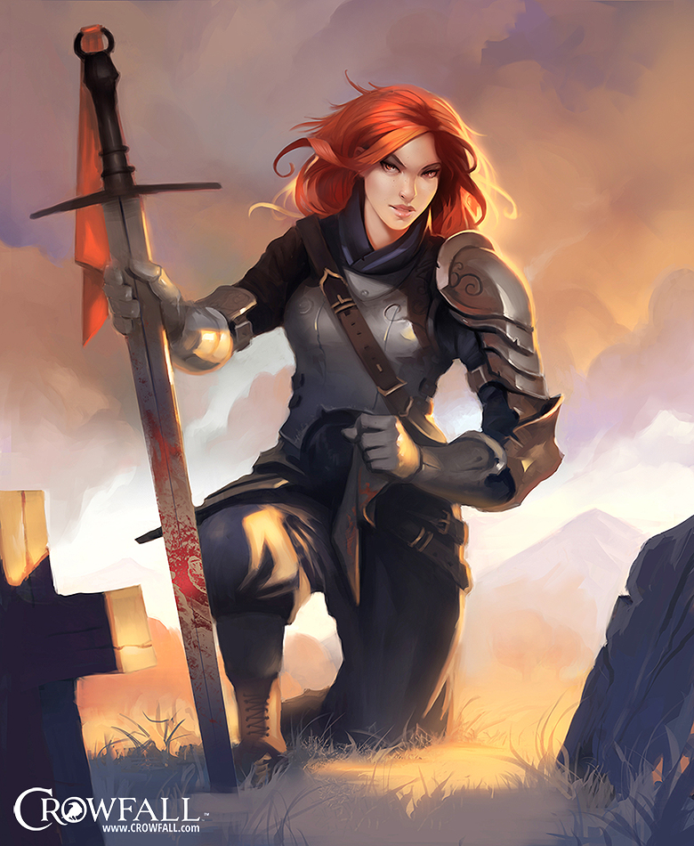 Crowfall Concept Art by Dave Greco