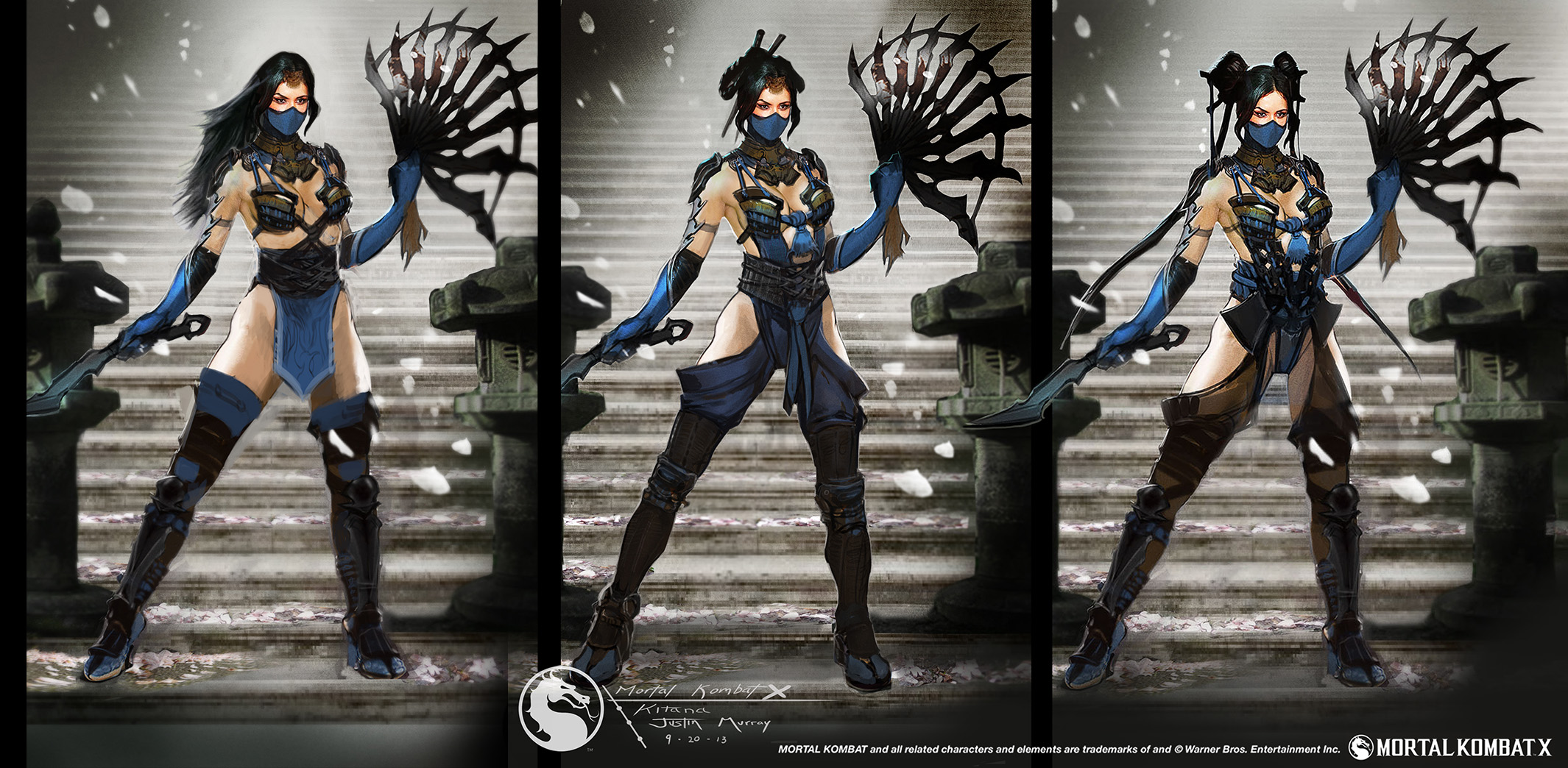 Exclusive 'Mortal Kombat X' Concept Art by Justin Murray