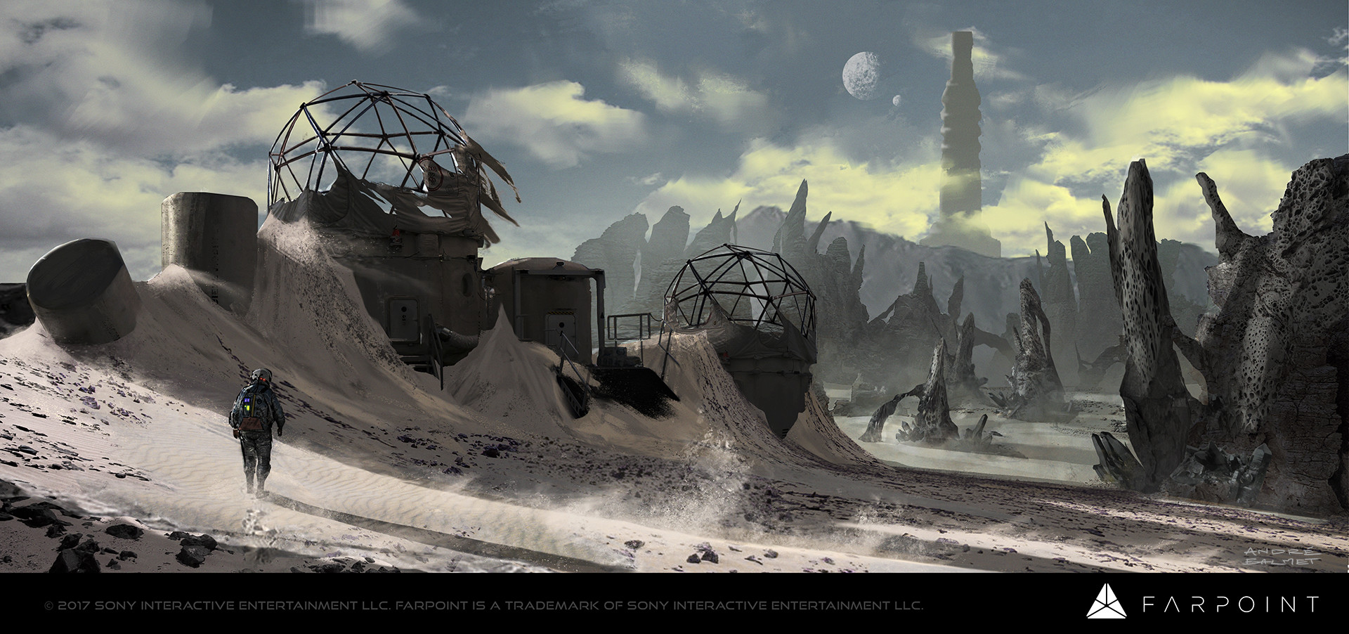Farpoint Concept Art by Andre Balmet