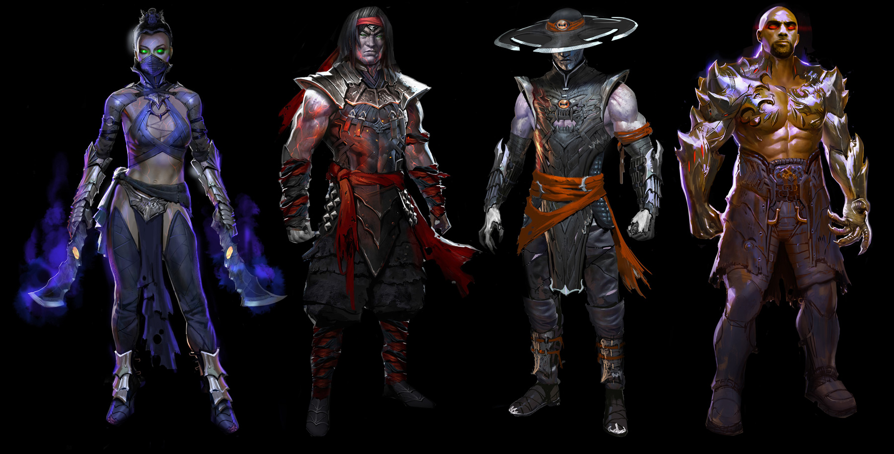 Exclusive 'Mortal Kombat X' Concept Art by Marco Nelor
