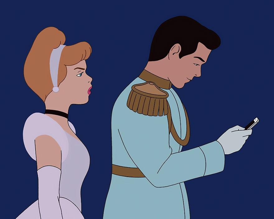 Um ilustrador imaginou como seriam personagens da Disney se vivessem em 2017