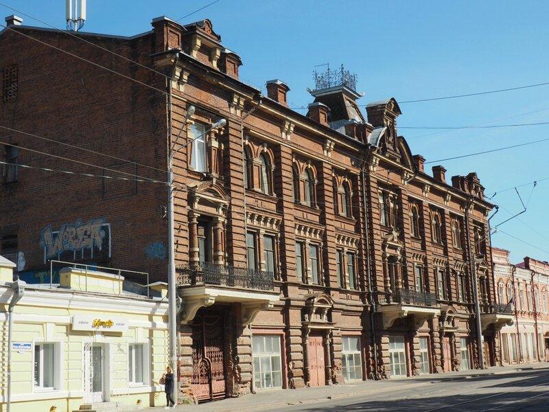 Томск, улица Розы Люксембург (Tomsk, Rosa Luxemburg street)