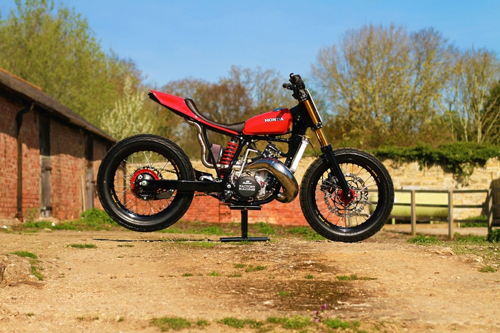 Thornton Hundred Motorcycles: Трекер Honda CR500