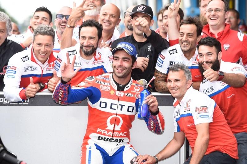 Данило Петруччи продлил контракт с Ducati