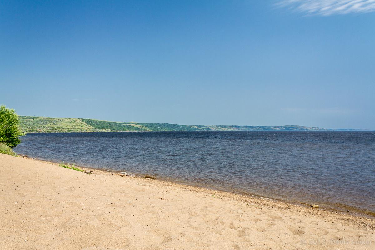 пляж Хвалынск Волга фото 1