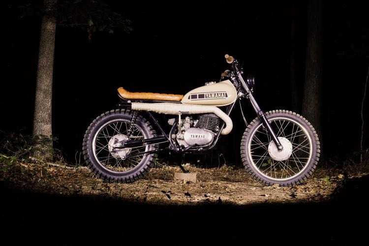 Дэвид Кинг: скрэмблер Yamaha DT3