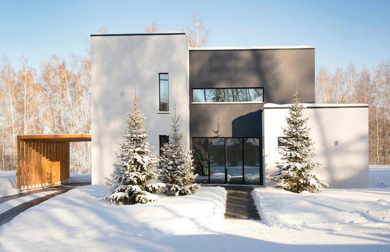 Личный опыт: Энергоэффективный дом в Новосибирске