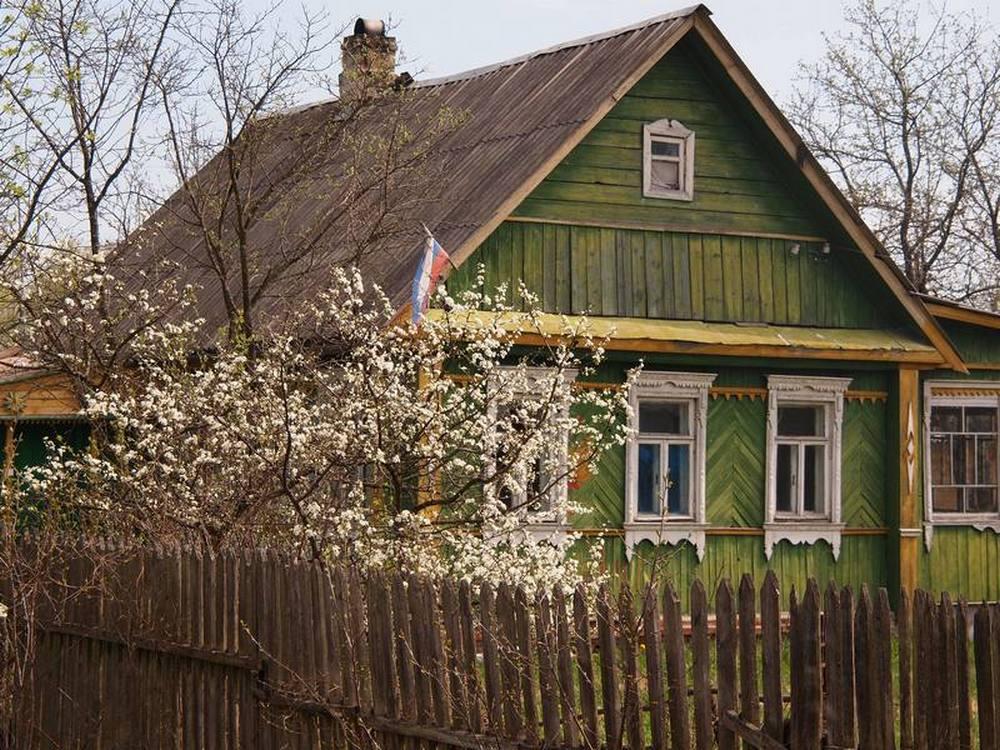 настоящие деревенские дома фото