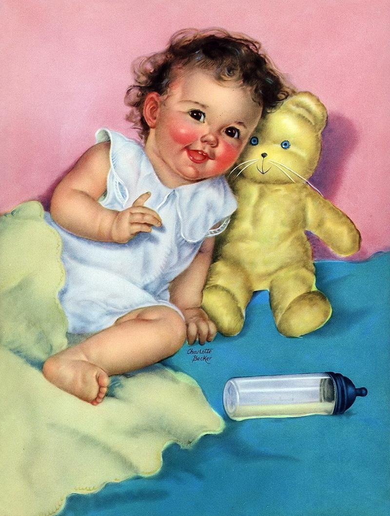 Картинки старые, прикольные открытки новорожденного ребенка