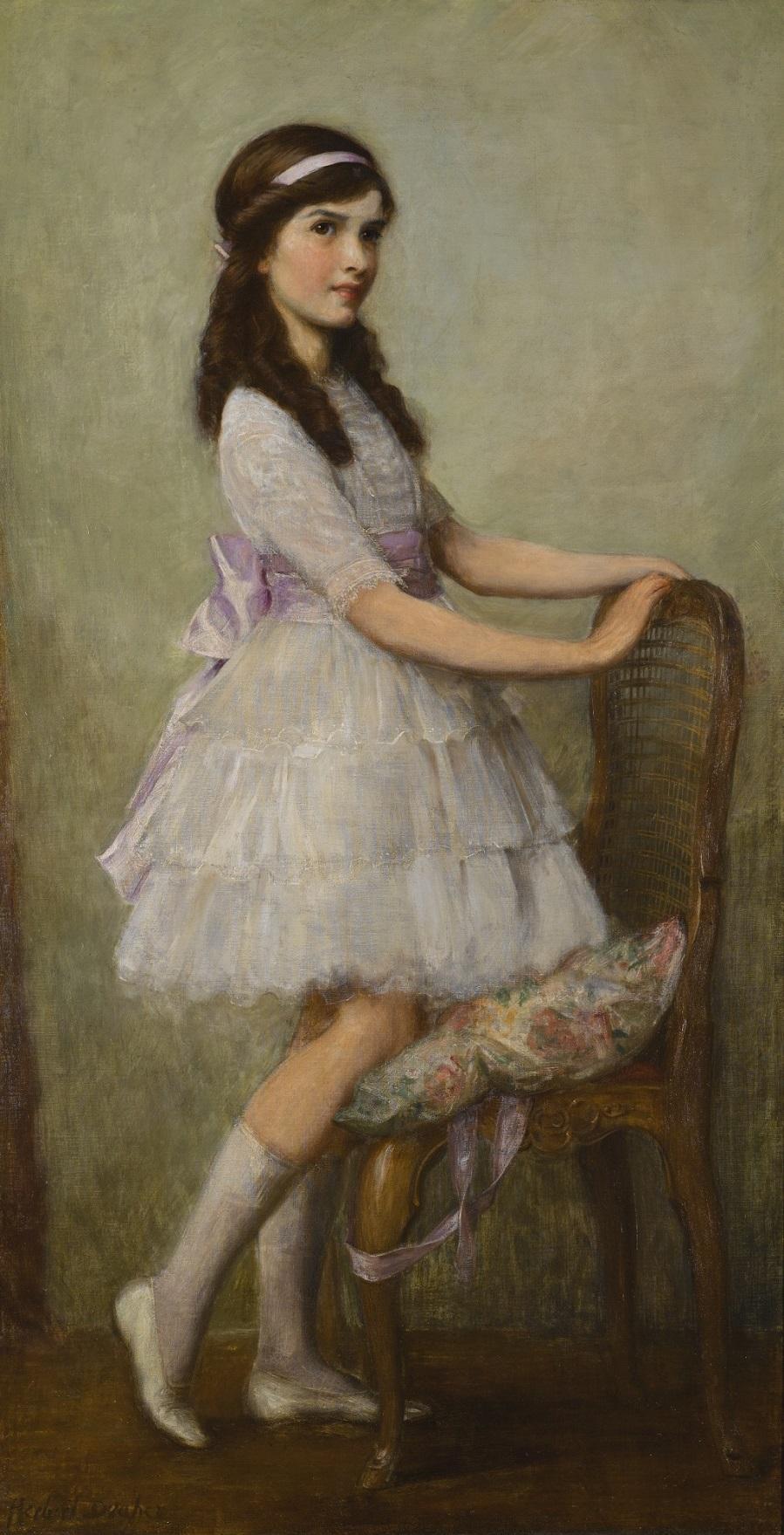 PORTRAIT OF MISS BARBARA DE SELINCOURT.Jpeg